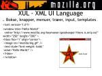 xul xml ui language