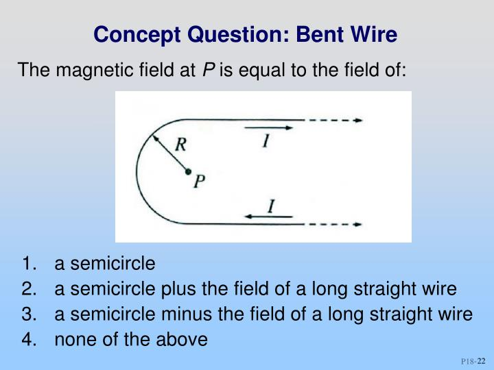 Concept Question: Bent Wire
