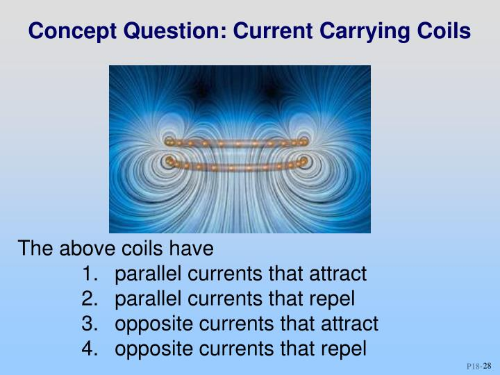 Concept Question: Current Carrying Coils