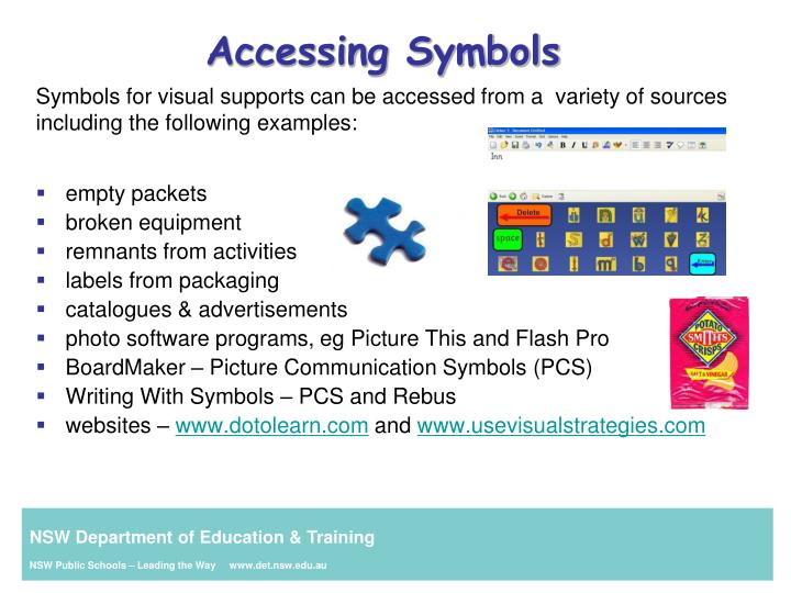 Accessing Symbols