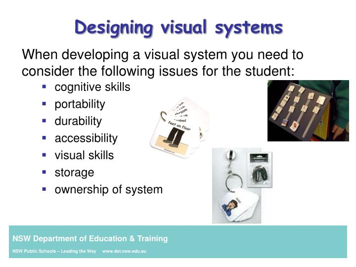 Designing visual systems
