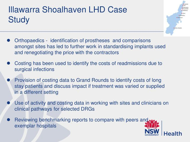 Illawarra Shoalhaven LHD Case Study