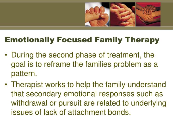 Emotionally Focused Family Therapy