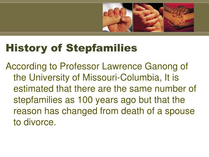 History of Stepfamilies