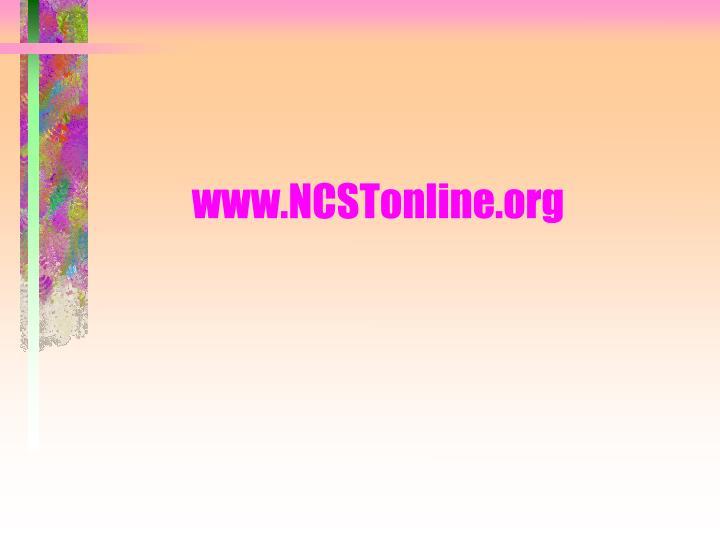 www.NCSTonline.org