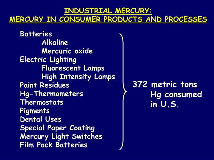 INDUSTRIAL MERCURY: