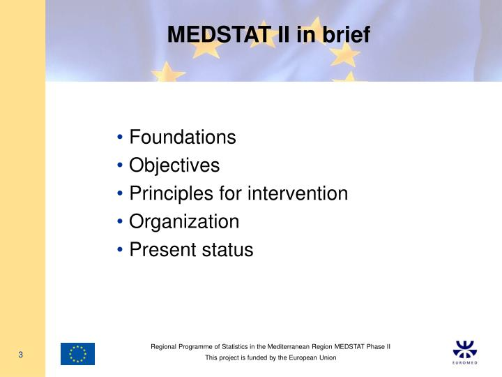 Medstat ii in brief