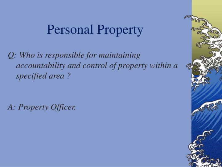 Personal Property