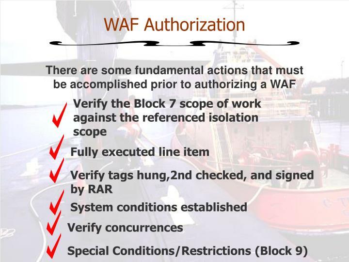 WAF Authorization