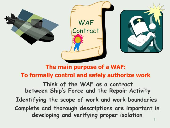 The main purpose of a WAF: