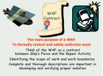 waf contract