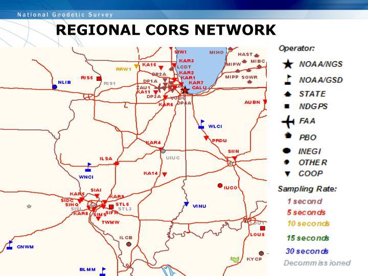 REGIONAL CORS NETWORK