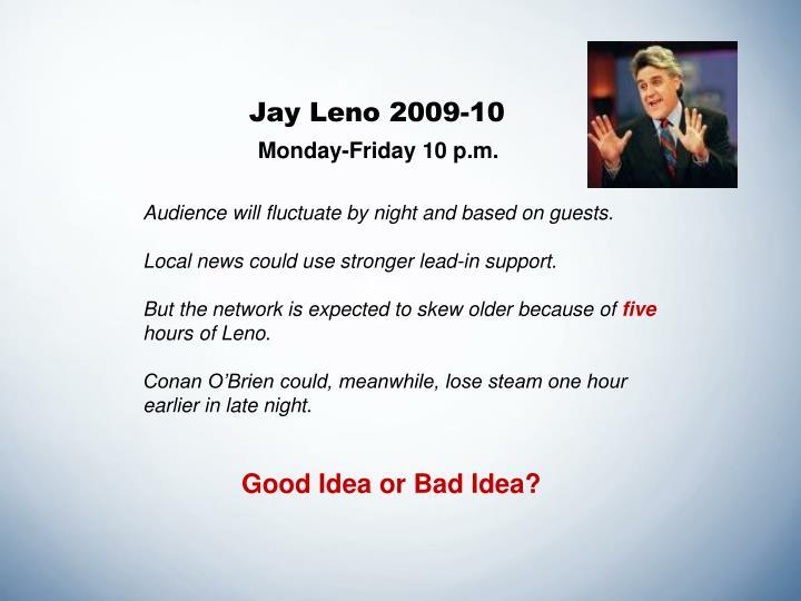 Jay Leno 2009-10