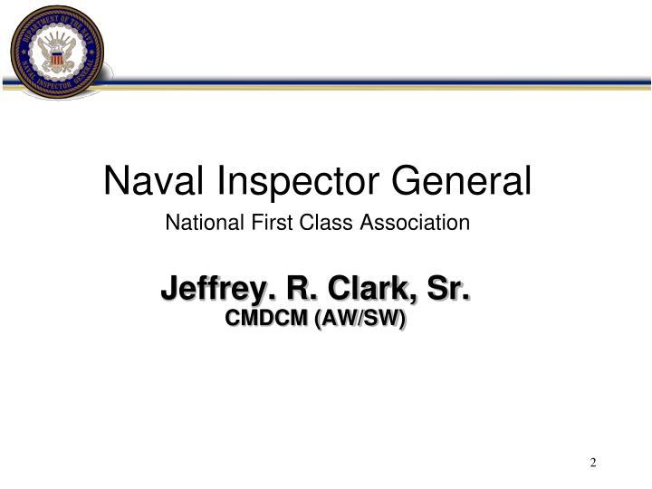 Jeffrey. R. Clark, Sr.