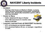 navcent liberty incidents