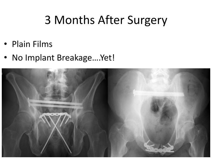 3 Months After Surgery