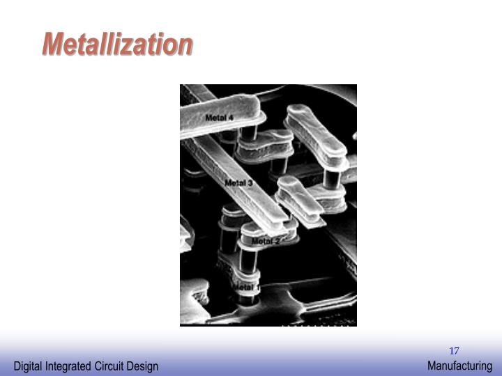 Metallization