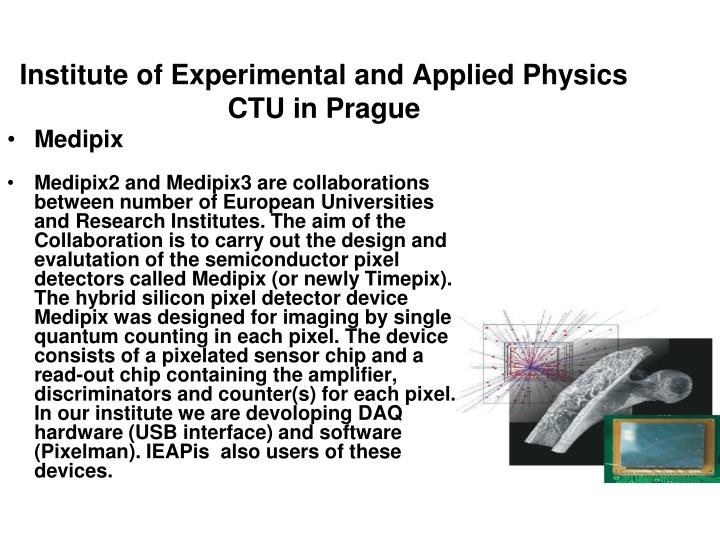 Institute of Experimental and Applied Physics