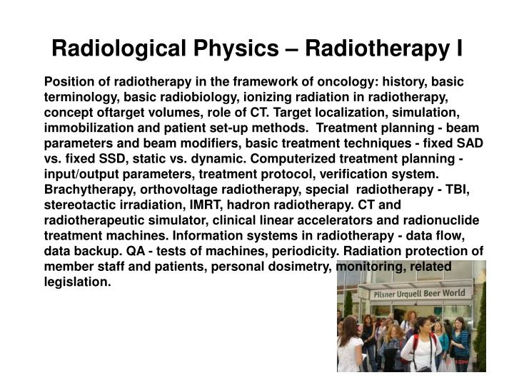 Radiological Physics