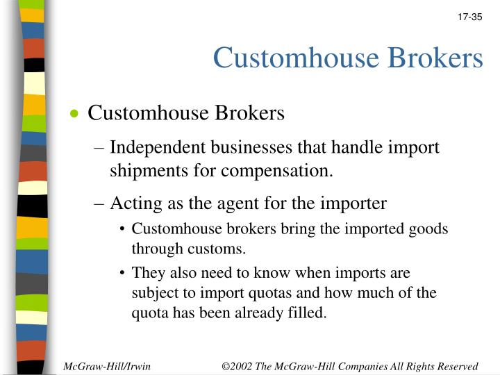 Customhouse Brokers