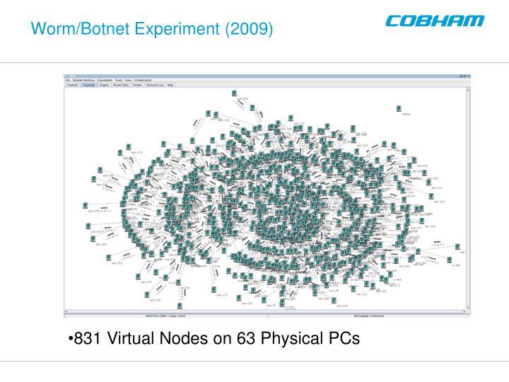 Worm/Botnet Experiment (2009)