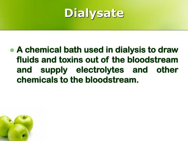 Dialysate