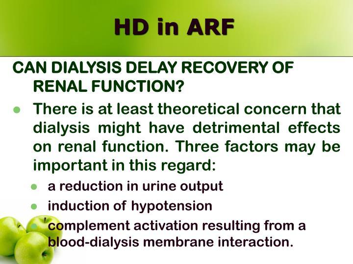 HD in ARF