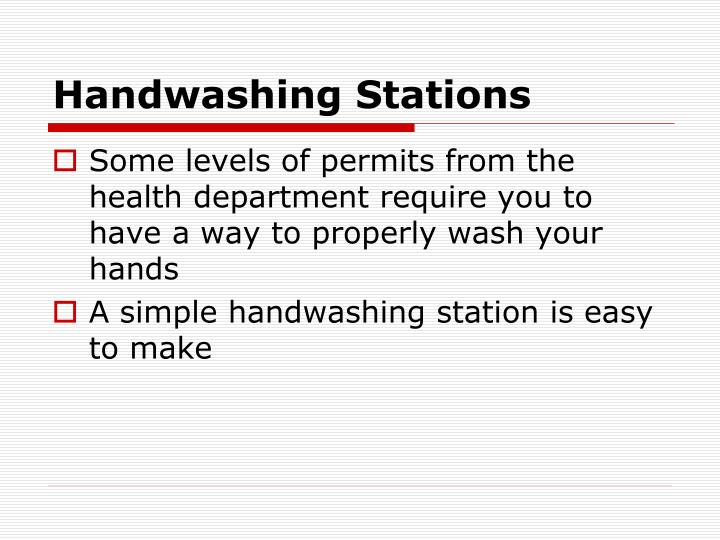 Handwashing Stations