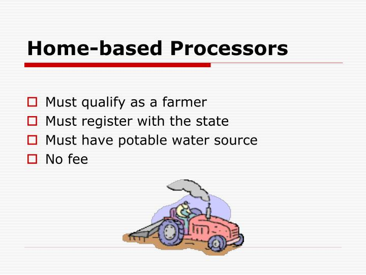 Home-based Processors