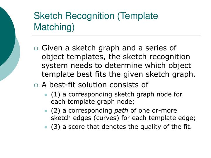 Sketch Recognition (Template Matching)