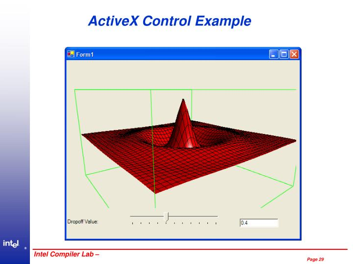 ActiveX Control Example