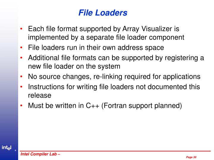 File Loaders