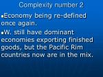 complexity number 2