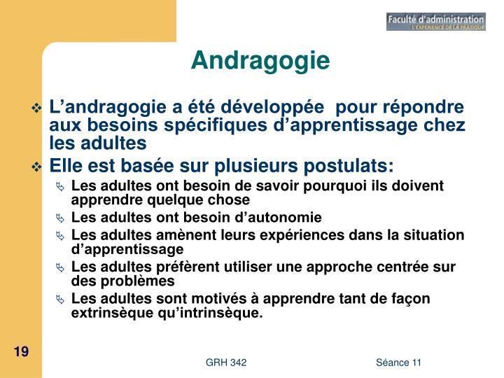 Andragogie