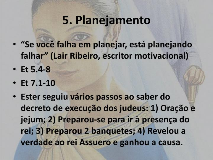 5. Planejamento