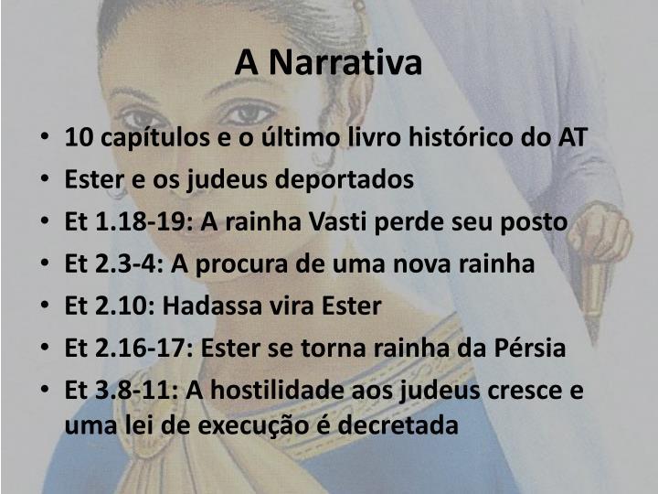 A Narrativa