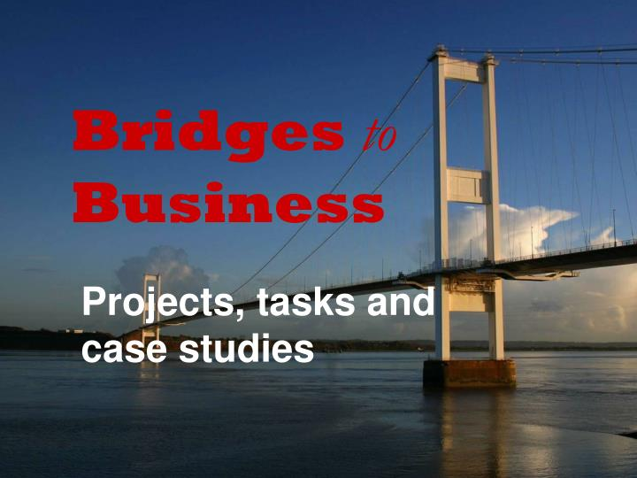 Bridges to business