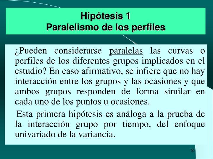 Hipótesis 1