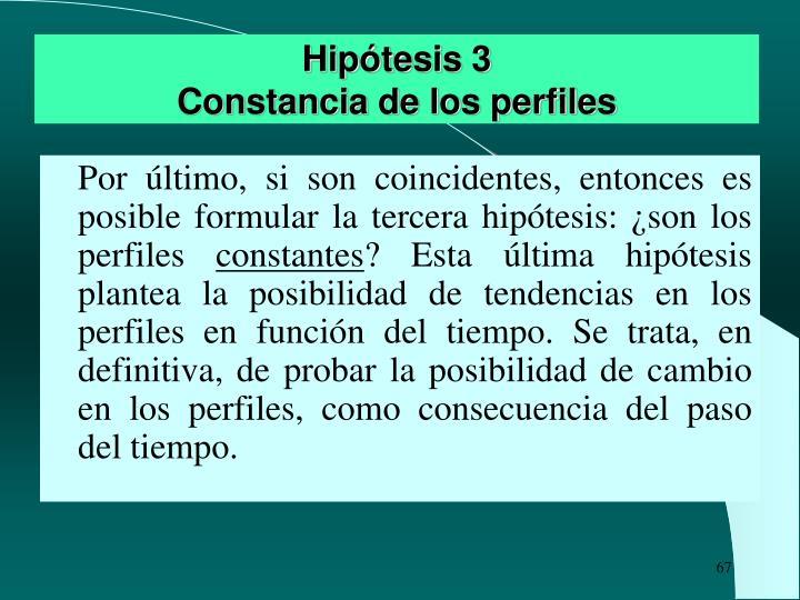Hipótesis 3