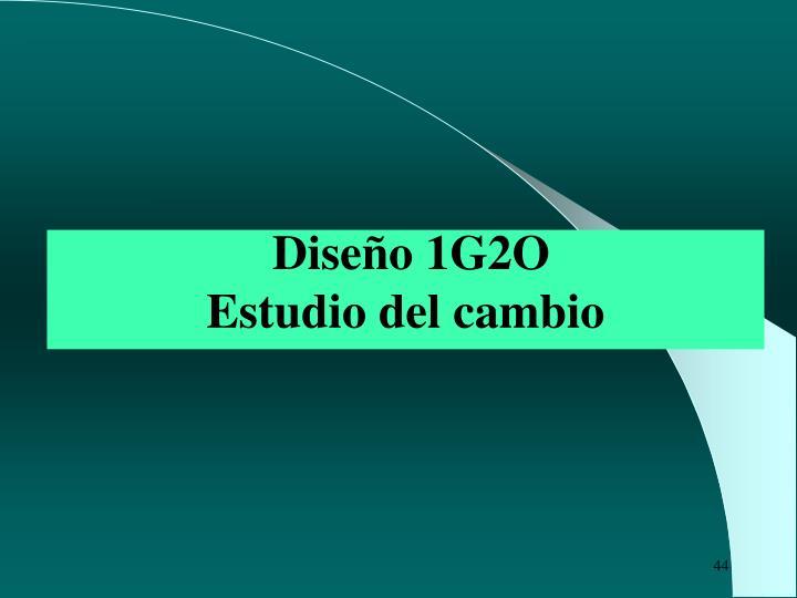 Diseño 1G2O