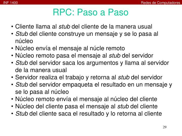 RPC: Paso a Paso