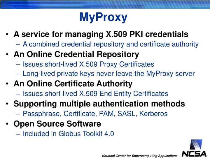 Myproxy