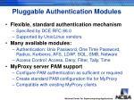 pluggable authentication modules