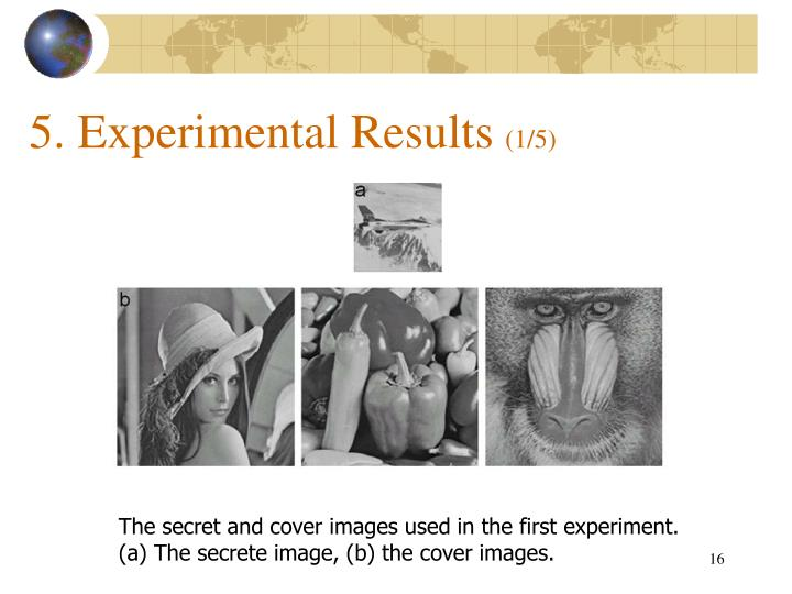5. Experimental Results