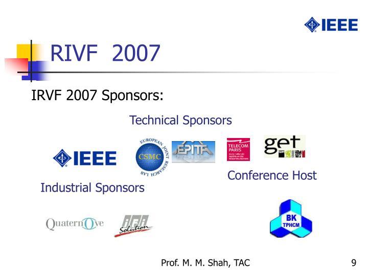 RIVF  2007