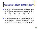 accessgrid bridge