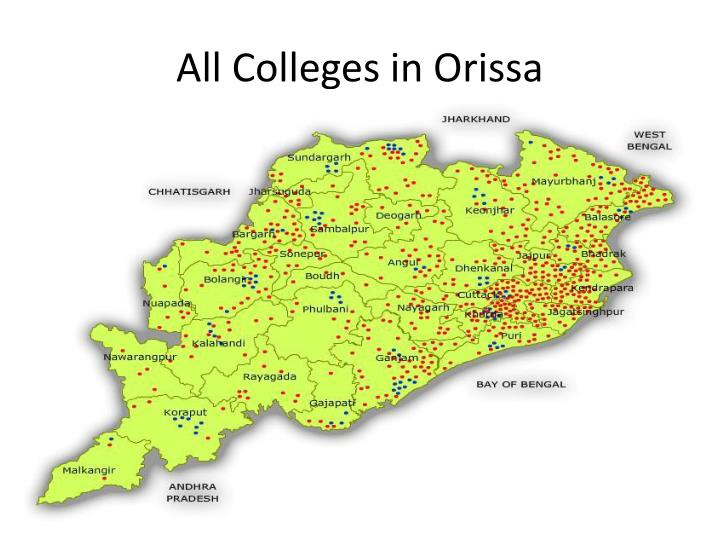 All Colleges in Orissa