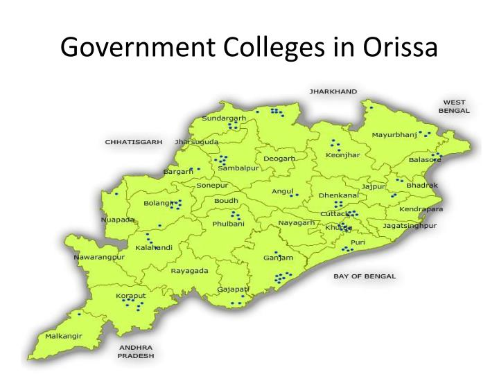 Government Colleges in Orissa