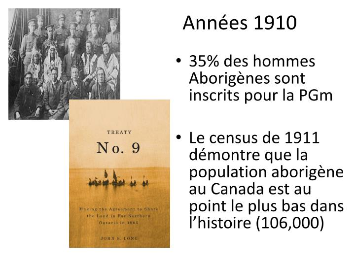 Années 1910
