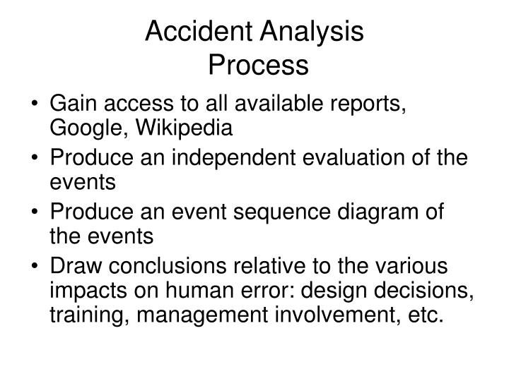 Accident Analysis